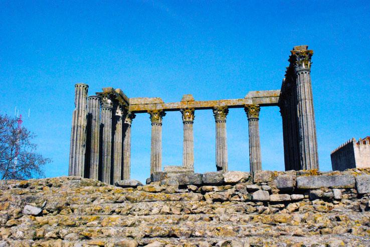 The Roman Temple of Évora, Templo de Diana