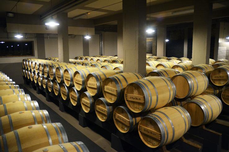 Bodegas La Rioja Alta cellar