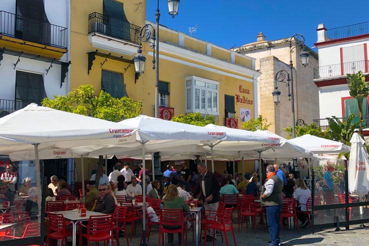 Casa Balbino in the Plaza del Cabildo